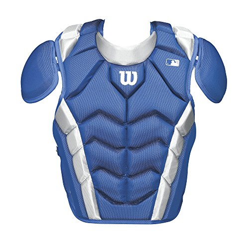 Wilson Pro Stock Chest Protector, Royal, 15.5