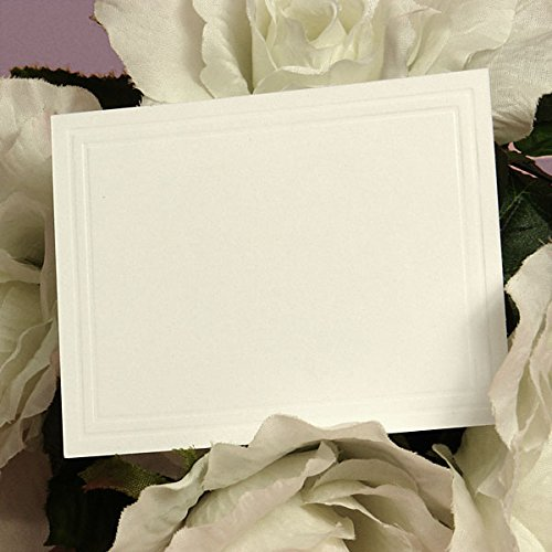 Blank Small Cards - Florist Supplies - 50 each by Paper (Floral Enclosure Cards)