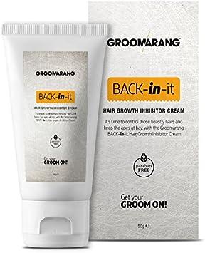 Groomarang Back-In-It Crema inhibidor del crecimiento del cabello ...