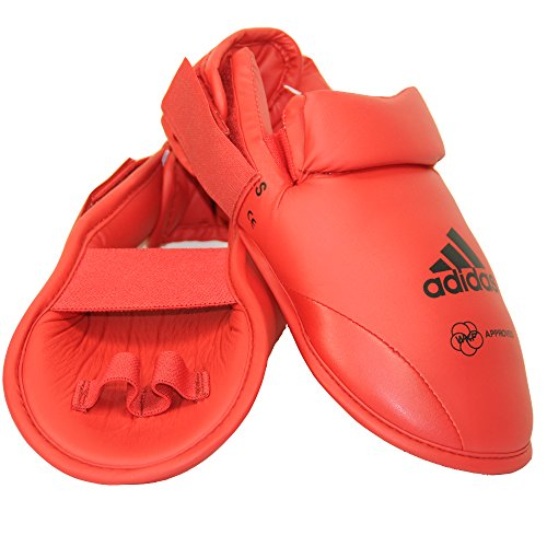 adidas-Karate-WKF-Martial-Arts-Red-Foot-Guard
