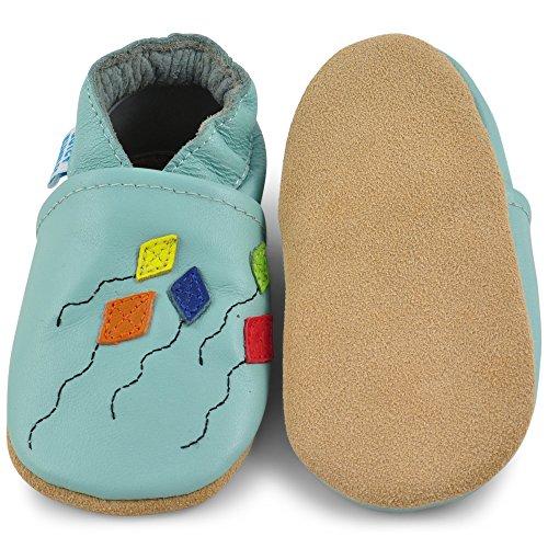 Zapatillas Para Zapatitos 24 Pantuflas Con 6 Patucos 18 Cuero Primeros – Papalotes 0 Meses Pasos Piel Zapatos Niña Niño 12 6 Elástico Bebé Infantiles 18 De 12 7Zqz4Pt