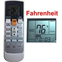 Replacement for Fujitsu Air Conditioner Remote Control Ar-Rah2u Ar-Rah1u Ar-Rae2u Ar-Rae1u Ar-Ry3 Ar-Ry4 Ar-Ry5 Ar-Ry6 Ar-Ry7 Ar-Ry10 Ar-Ry11 Ar-Ry12 Ar-Ry14 Ar-Ry15 Ar-Ry16 Ar-Ry17 Ar-Ry19 ... ...