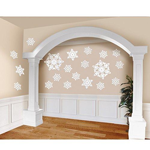 Snowflake Cutouts-20 Pack -
