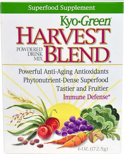 Kyolic Kyo-Green® Harvest Blend Powdered Drink Mix -- 6 oz - 3PC by Kyo-Green