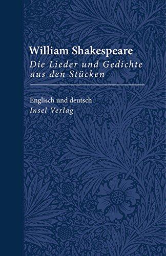 Die Lieder Und Gedichte Aus Den Stücken Zweisprachig