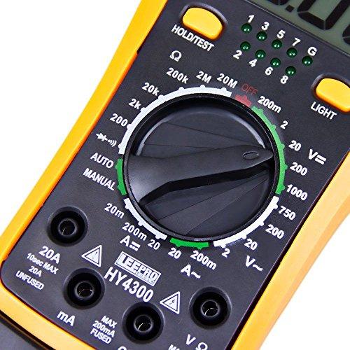 MULTIMETRO DIGITAL TESTE DE REDE, TELEFONIA E USB PROFISSIONAL HY4300 LEETOOOLS