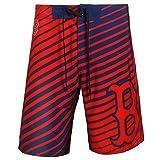 "Boston Red Sox MLB ""Stripes"" Men's Boardshorts Swim Trunks"
