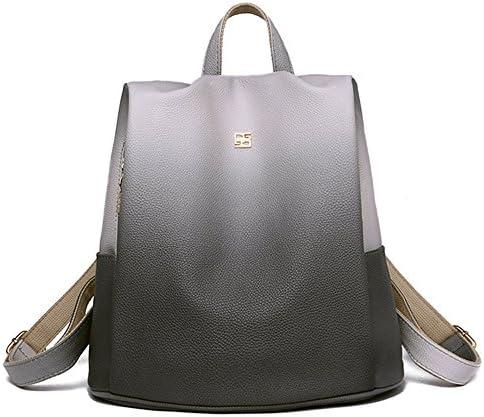 SJMMBB Burglarproof knapsack women's new lady's backpack,gray,313115CM