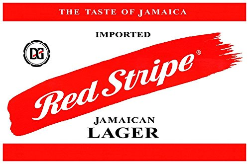 Red Stripe Poster, the Taste of Jamaica, Lager, Imported Jamaican Beer