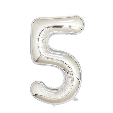 OSAYES 16 Pulgadas de Aluminio Oro Rosa número de dígitos ...