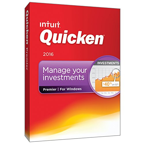 Quicken Premier 2016 Personal Finance & Budgeting Software [Old Version]