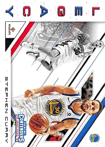 - 2018-19 Panini Contenders Draft Picks Basketball Legacy #30 Stephen Curry Davidson Wildcats/Golden State Warriors Official NBA Trading Card