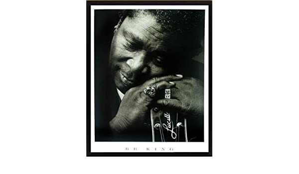 B King Framed Poster 22x29 B
