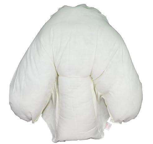 Luxus Anti Allergie Kissen Mit Fledermausärmeln Gratis Kissenbezüge In Creme