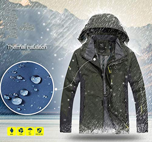 Giacca Giacca L Blue da Traspirante Sportiva Uomo Giacca da da e Colore Viaggio Trekking Sportiva Sky ZJEXJJ Uomo da Dimensioni 4qdgUfx4w