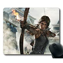 Lara Croft Tomb Raider: Definitive Edition Custom Mouse Pad Rectangle by Custom4you