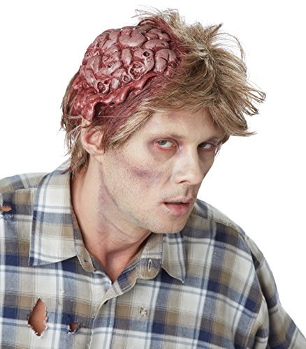 [California Costumes Men's No Brainer, Dirty Blonde, One Size] (Couples Scary Costumes)