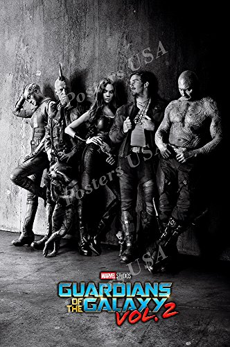 Posters Usa   Guardians Of The Galaxy Vol  2 Ii Movie Poster Glossy Finish    Mov546  24  X 36   61Cm X 91 5Cm
