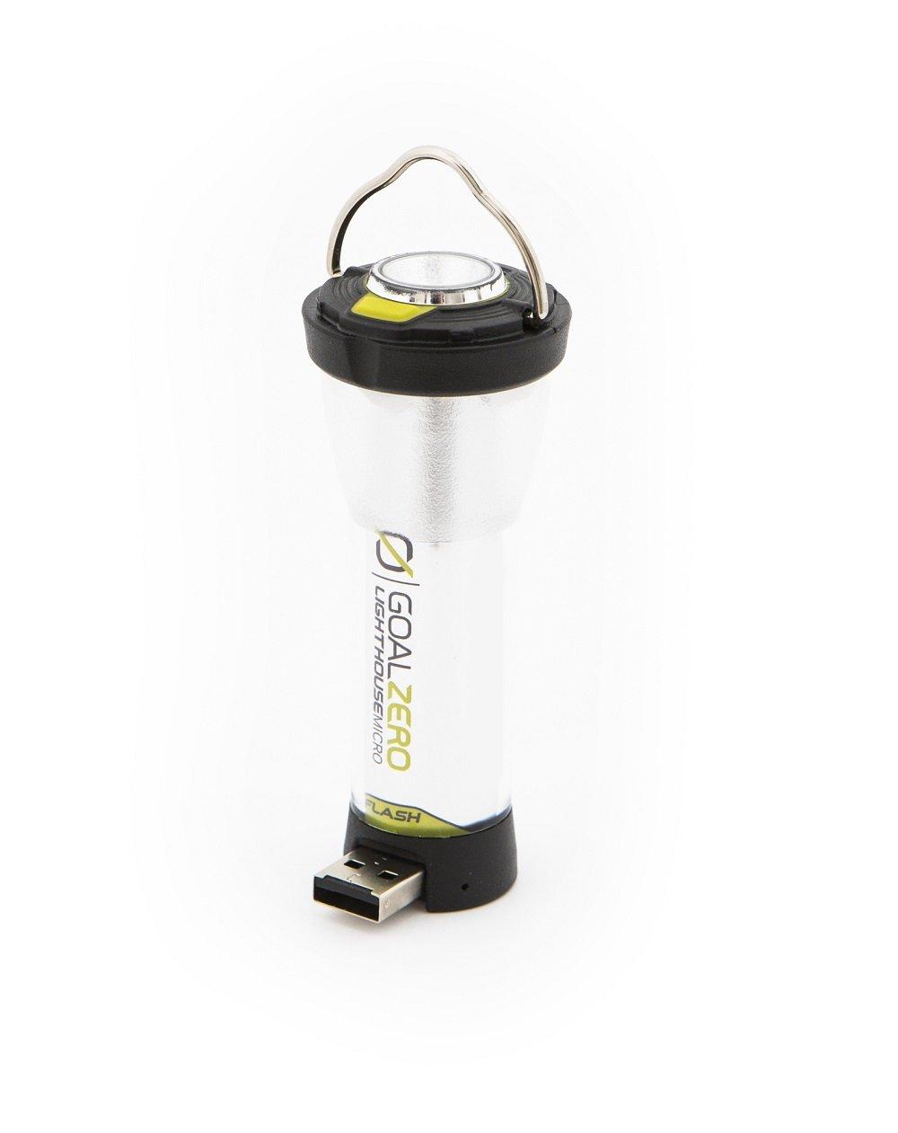Goal Zero Unisex Leuchtturm Micro Flash Lampe wei/ß