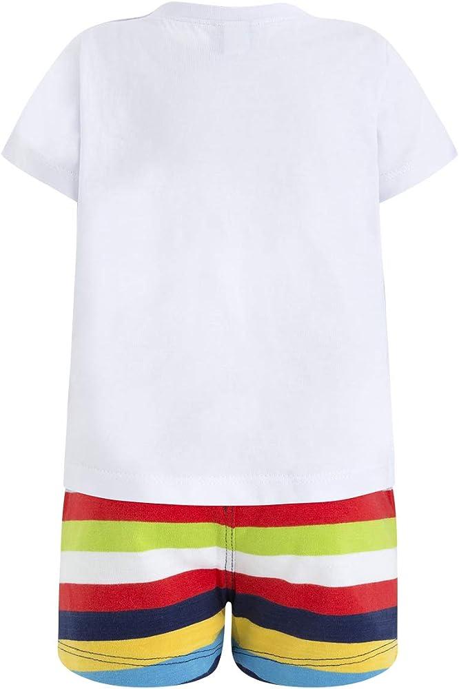 Tuc Tuc Camiseta+Bermuda Rayas Punto NIÑO Pirates Conjunto de Ropa ...