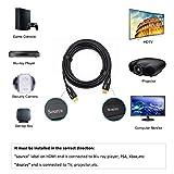 DTECH 15 Feet Fiber Optic HDMI Cable 4K 60Hz 18Gbps