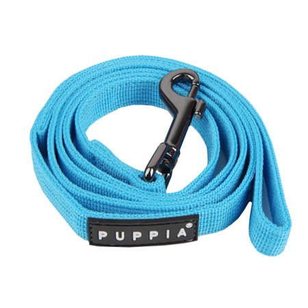 Authentic Puppia Two Tone Lead, Sky Blue, Large, My Pet Supplies