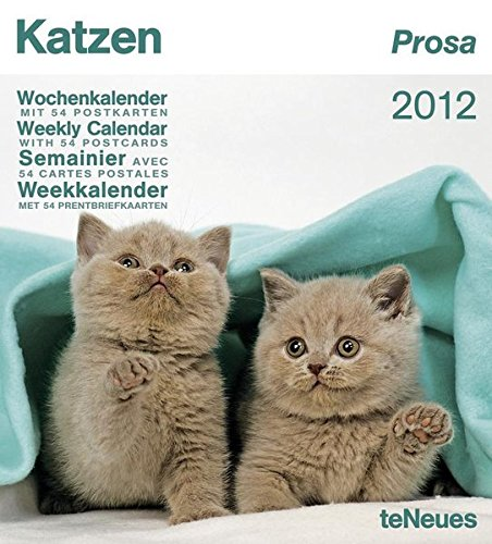Katzen Prosa 2012: Wochenkalender