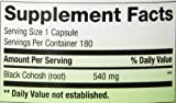 Natures Way Black Cohosh Root 540 mg, 180 VCap
