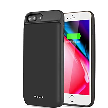 YPLANG Funda Bateria para iPhone 6 Plus/ 6s Plus/ 7 Plus/ 8 ...