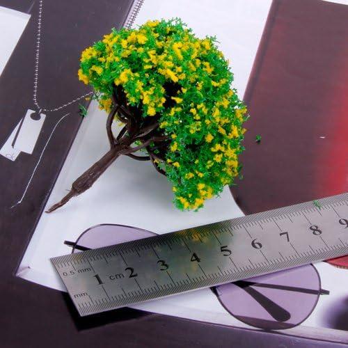 sharprepublic 約20個 樹木 モデルツリー ツリー模型 情景コレクション 箱庭 DIY アクセサリー 装飾 1/100