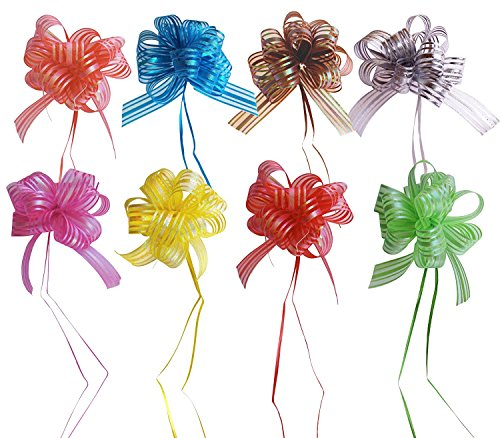 MoDu Set of 8 Elegant Pull Bow with 35