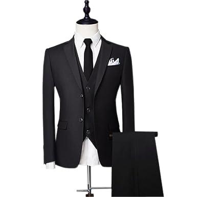 Amazon.com: hzwl boda de trajes para hombre novio Plus ...
