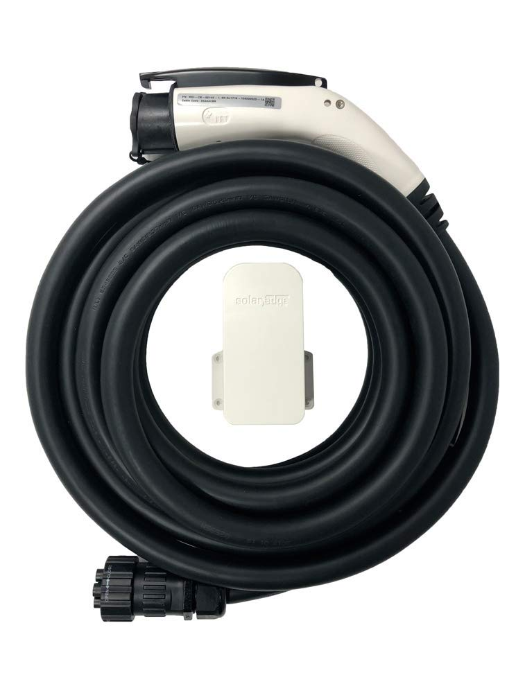 SOLAREDGE 25 ft. EV Charging Cable with Holder. Compatible Only with SOLAREDGE EV Charging Inverters Inverter Charger NOT Included