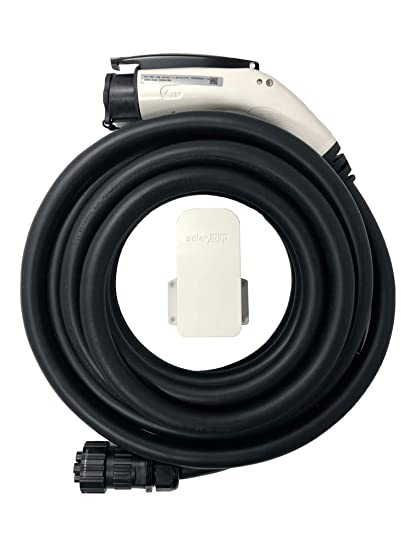 SOLAREDGE 25 ft  EV Charging Cable with Holder  Compatible Only with  SOLAREDGE EV Charging Inverters (Inverter/Charger NOT Included)