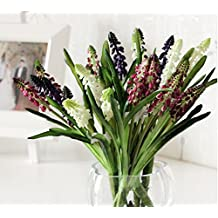 Skyseen 3Pcs Fake Wild Lily-of-the-Valley Artificial Succulent Plant (Not Include Vase)