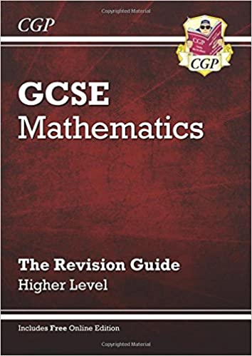 Gcse maths revision guide with online edition higher richard gcse maths revision guide with online edition higher richard parsons 9781841465364 amazon books fandeluxe Images