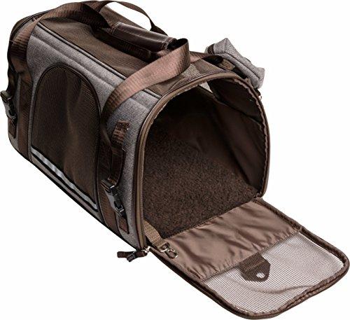 Friends Forever Brown Soft Carrier with Waste Bag Holder Set