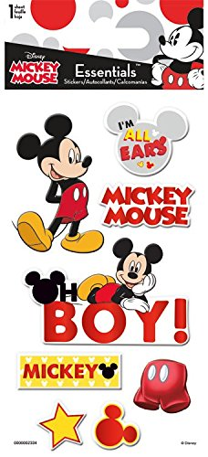 Disney Mickey Mouse 3d Essentials Stickers