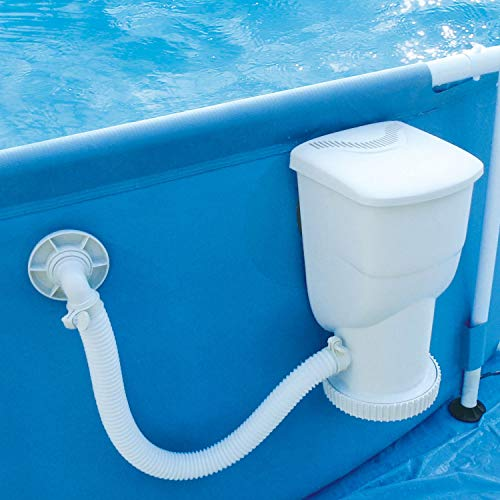 (Summer Waves 600 Gallons SkimmerPlus Filter Pump System for Above Ground Pools)