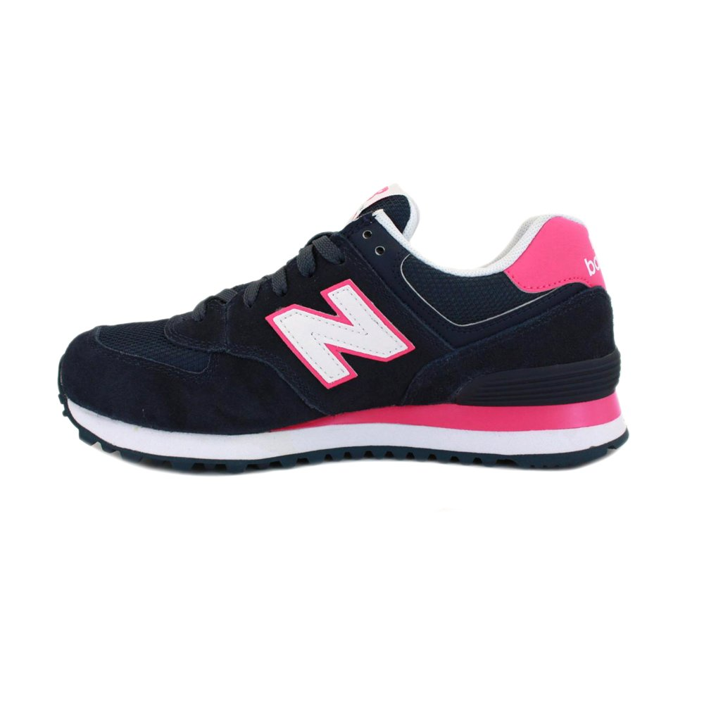 official photos 6defb df49d New Balance 574 WL574CPN Womens Laced Suede & Mesh Trainers ...