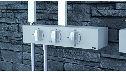 Grb kala - Columna termostatica fija ducha xl cromo: Amazon.es ...