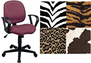 Amazoncom OFFICE STAR PALOMINO ANIMAL PRINT FABRIC DESK CHAIRS
