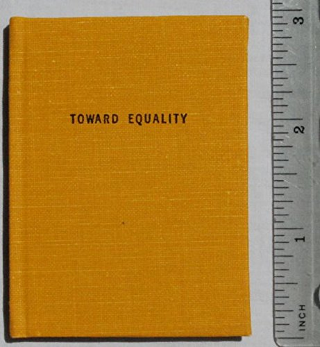 Toward Equality in our Schools.