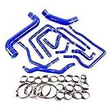 Radiator Silicone Hose For Subaru Impreza WRX/STi GDA/GDB EJ207 2002-2006 Blue
