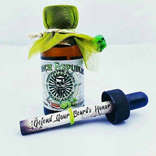 Instigator Brand Beard Armor 1513 Beard Oil Key Lime Pie Conch Republic (Instigator Beard Oil)