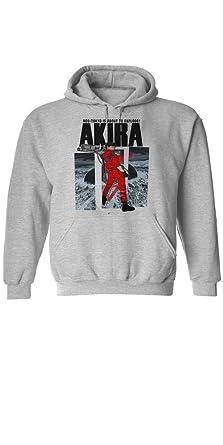 5d13a6ed339 Amazon.com  Anime Hoodie Akira Neo Tokyo Men Grey Cotton Pullover ...