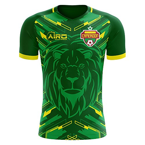 (Airosportswear 2018-2019 Cameroon Home Concept Football Soccer T-Shirt Jersey - Baby)