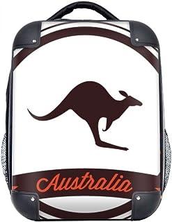 DIYthinker Australie saveur Kangourou Emblem Illustration Hard Case épaule enfants Sac à dos de transport 15' cadeau