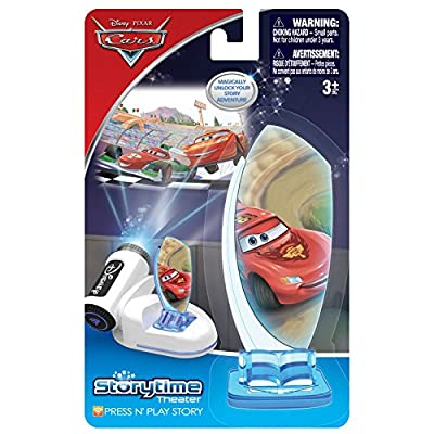 Tech 4 Kids Story Time Theater Press & Play Cars: Toys & Games