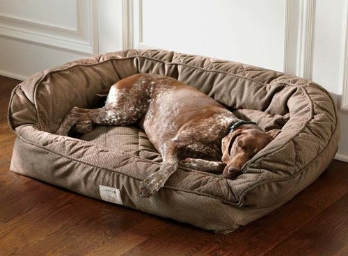 Orvis Deep Dish Dog Bed With Memory Foam Large Dogs Up